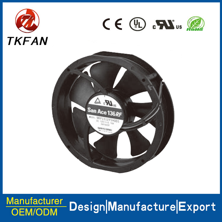 9RF1312P3H001 13628 Reversible flow fan